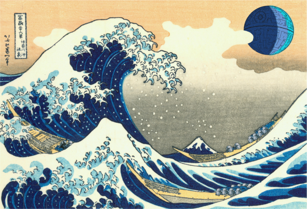 The Great Wave off Kamino