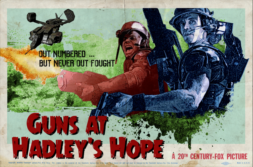Guns at Hadleys Hope