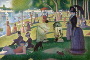 Sunday on la grand jatte